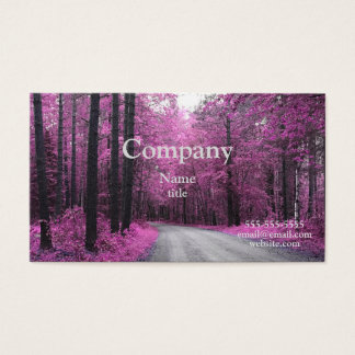 Spring Pink Trees Business Cards