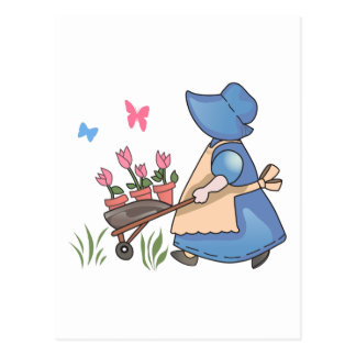 SPRING PLANTING POSTCARD