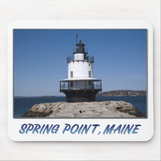 Spring Point (06) Framed II Mouse Pad