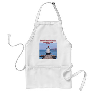 Spring Point Ledge Lighthouse, Maine Apron