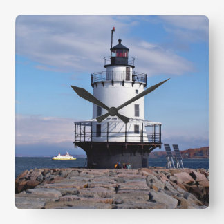 Spring Point Ledge Lighthouse, Maine Clock