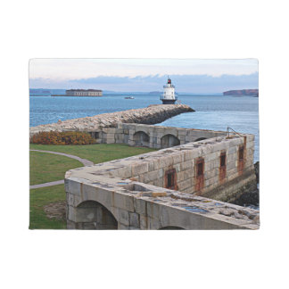 Spring Point Ledge Lighthouse, Maine Door Mat