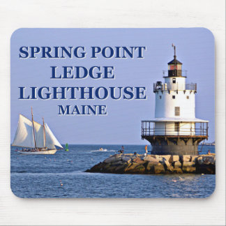 Spring Point Ledge Lighthouse, Maine Mousepad