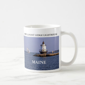 Spring Point Ledge Lighthouse, Maine Mug