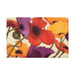 Spring Poppies Gallery Wrapped Canvas