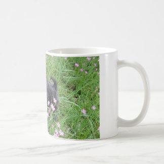 Spring puppy coffee mug