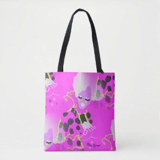 Spring-Queen_Hot-Pink(c) Multi-Styles & Sizes Tote Bag