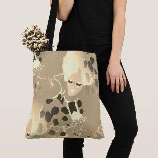 Spring-Queen_Sepia(c) Multi-Styles & Sizes Tote Bag