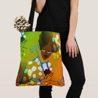 Spring-Queen_Tropic(c) Multi-Styles & Sizes Tote Bag