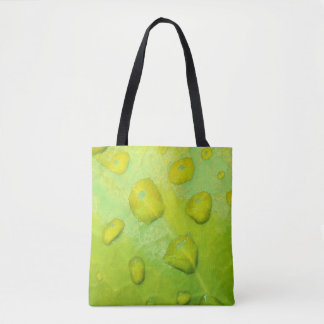 Spring Rain Abstract Tote Bag