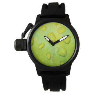 Spring Rain Abstract Watch