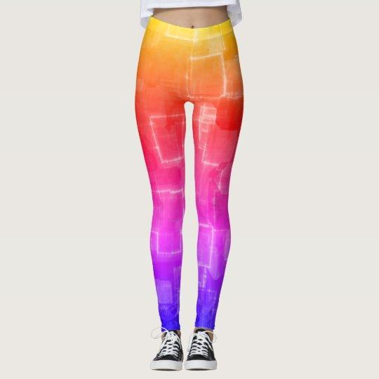 Spring Rainbow Leggings by Julie Everhart