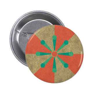 Spring Rays Pinback Buttons