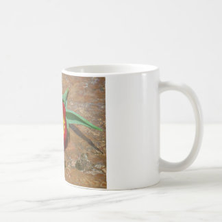 Spring Red Tulip Classic White Coffee Mug
