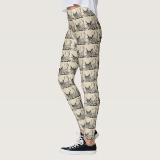 Spring Robin Leggings