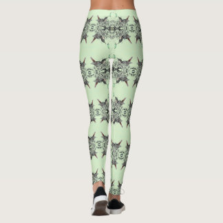 Spring Robin Patterned Leggings