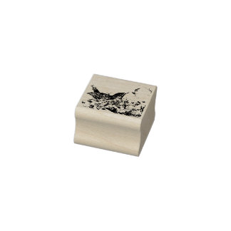 Spring Robin Rubber Stamp