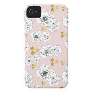Spring Romance Modern Floral Case-Mate iPhone 4 Case