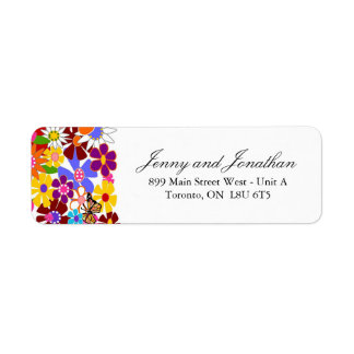 Spring RSVP Address Labels