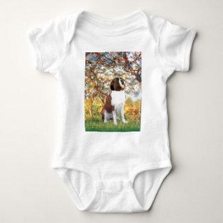 Spring - Saint Bernard Baby Bodysuit