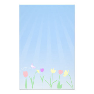 Spring Scene Stationary Stationery