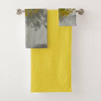 Spring shower bath towel set