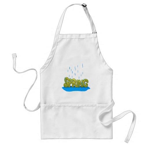 Spring Showers 2 Aprons