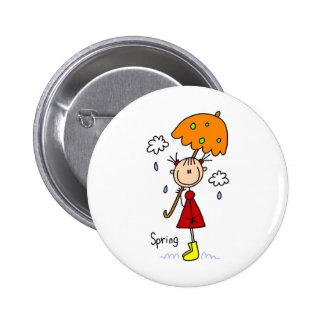 Spring Showers Button