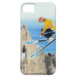 Spring Skiing at Flegere iPhone 5 Cover