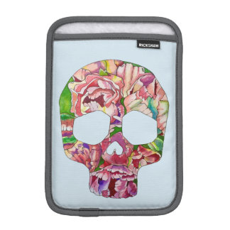 Spring skull iPad mini sleeve