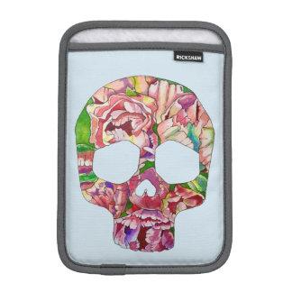Spring skull iPad mini sleeves