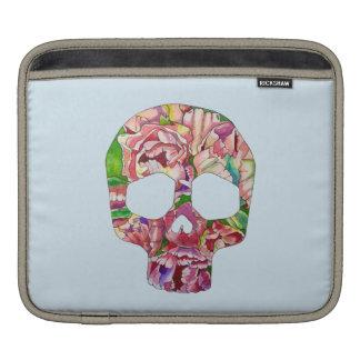 Spring skull iPad sleeve