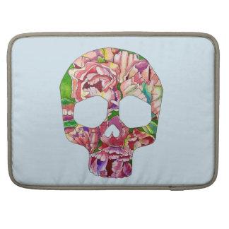 Spring skull sleeves for MacBook pro