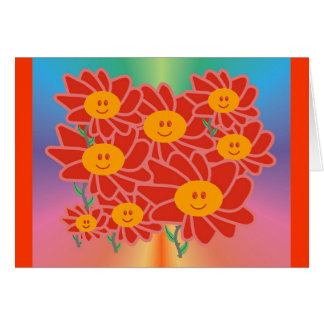 Spring Smilies Day!  Card Blank
