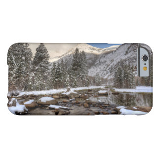 Spring snow, Sierra Nevada, CA Barely There iPhone 6 Case