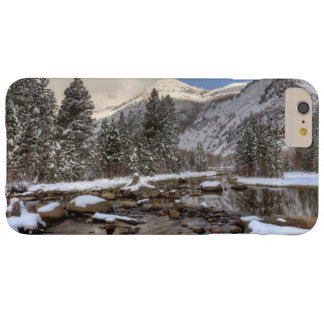 Spring snow, Sierra Nevada, CA Barely There iPhone 6 Plus Case