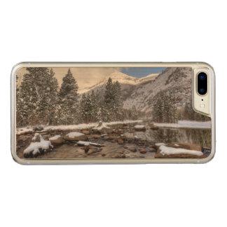 Spring snow, Sierra Nevada, CA Carved iPhone 8 Plus/7 Plus Case