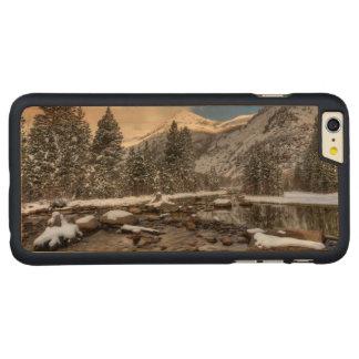 Spring snow, Sierra Nevada, CA Carved Maple iPhone 6 Plus Case