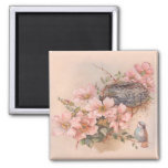 Spring Song Square Magnet