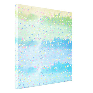 Spring Sparkles Wrapped Canvas Print