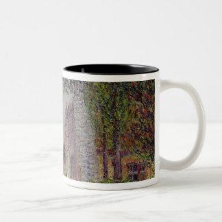 Spring, St. Cyr-de-Vaudreuil Two-Tone Coffee Mug