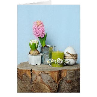 Spring still life card