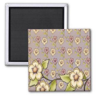 Spring Summer Blossoms Flowers Fridge Magnet