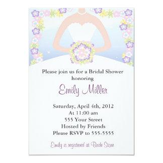 Spring Summer Invitation Bridal Shower