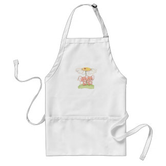 Spring Summer Love Mice Mouse Daisy Standard Apron