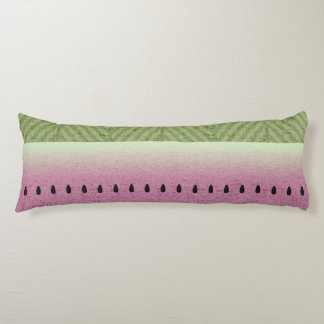 Spring & Summer Quirky Watermelon Body Pillow