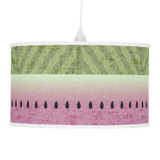 Spring & Summer Quirky Watermelon Pendant Lamp