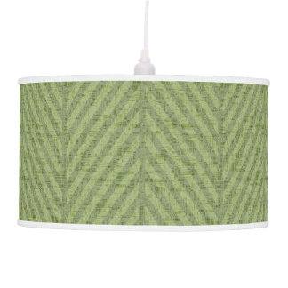 Spring & Summer Watermelon Green Stripes Pendant Lamp