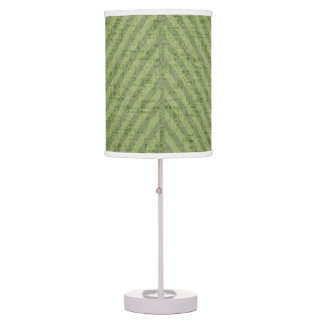 Spring & Summer Watermelon Green Stripes Table Lamp