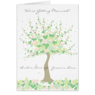 Spring/Summer Wedding  - Invitation Card
